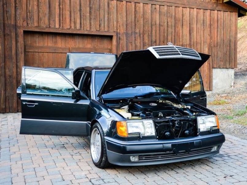 Rare 1994 Mercedes 500E with only 34K miles for sale | DPCcars