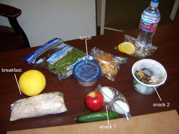 Chelle's clean eating cooler February 2, 2011