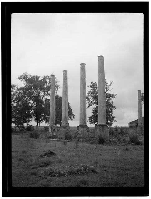 - Ruins, Adjoining Golf Club, Bennettsville, Marlboro County, SC