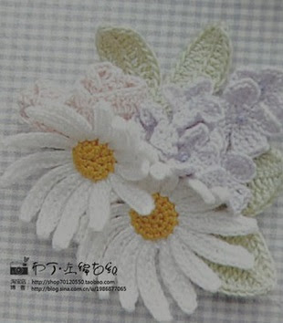 Flower knitting Schemes