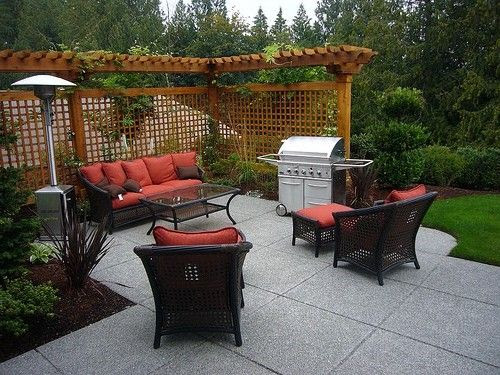 Patio ideas for small backyard