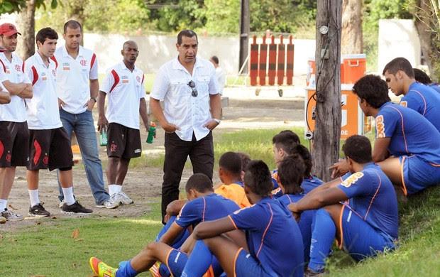 Zinho Flamengo (Foto: Alexandre Vidal / Globoesporte.com)
