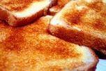 le pain grillé