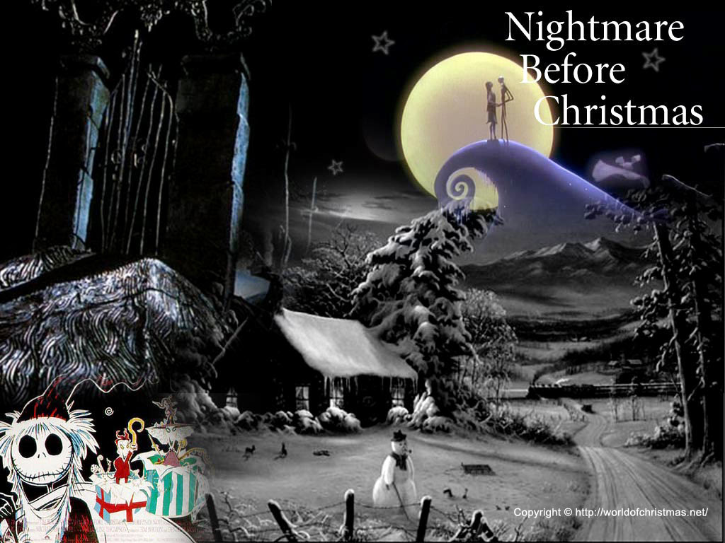 Nightmare Before Christmas Wallpaper Free Nightmare Before