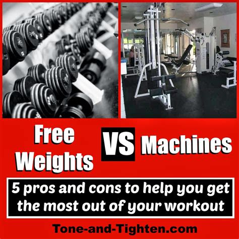 weights  machines tone  tighten