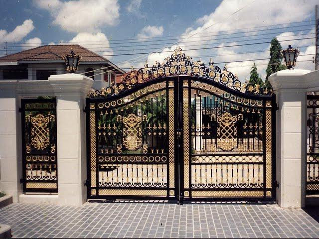 Compound Wall Gate Design Photos
