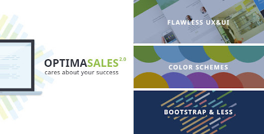 OptimaSales - Responsive HTML5/CSS3 Template