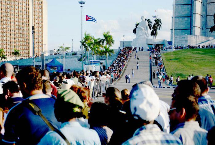 Plaza de la Revolucion-Honras fúnebres del Comándate en jefe Fidel Castro Ruz