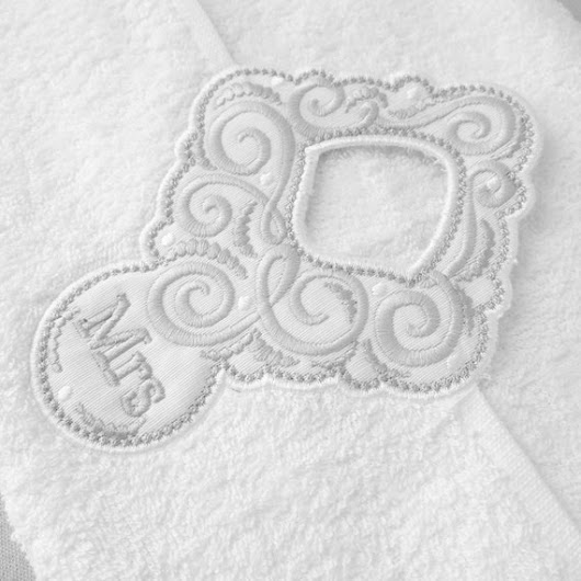 Wedding gift Mr and Mrs Towel hanging hole   made to by artapli