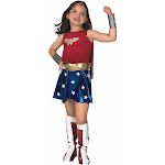 Batman V Superman: Dawn of Justice - Girls Deluxe Wonder Woman Costume