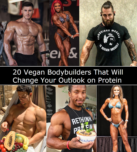 20 Vegan Bodybuilders That Will Change Your Outlook on Protein | Vegan Recipes | Vegan Kitchen Boss