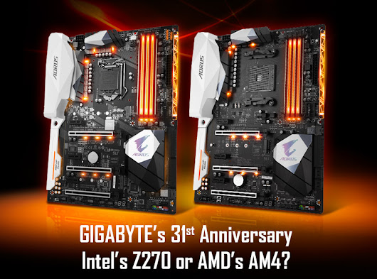 Intel's Z270 chipset or AMD's AX370? Pick your favorite for a chance to win!