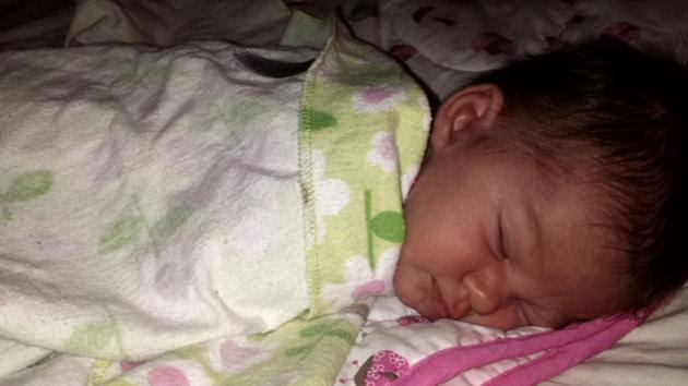 The body of 19-day-old Ellorah Warner was found Saturday, Jan. 24, 2015 in the cap of a pickup truck in Newhall.