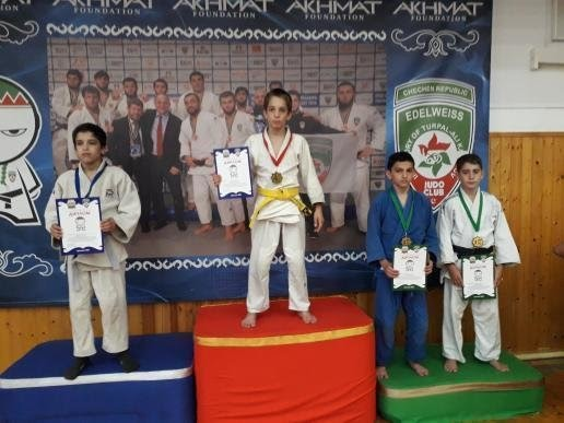 Сулейм Гомкортиев стал победителем турнира подзюдо вГрозном