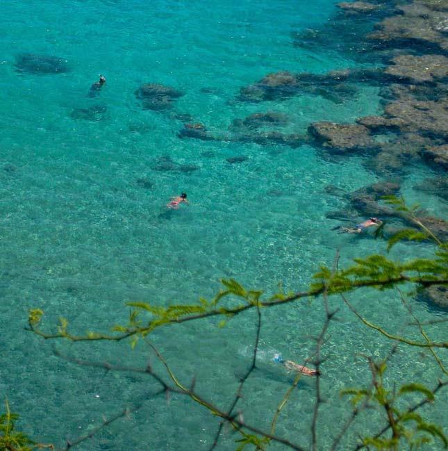 Kristálytiszta vizű helyek