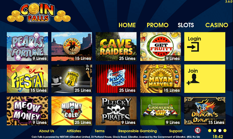 Slots Deposit by Phone Bill £5 + £500 FREE | CoinFalls PC and Mobile Casino! |