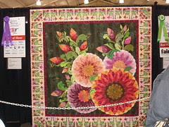Awesome Blossoms by: Claudia Clark Myers and Marilyn Badger (Best in Show)