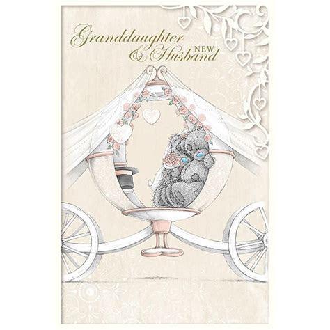Granddaughter & New Husband Me to You Bear Wedding Card £3