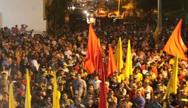Batalhão comparece na inauguração do comitê de Raimundo da Audiolar