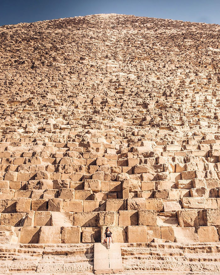 16 - The Great Pyramid Of Giza Compared To A Human