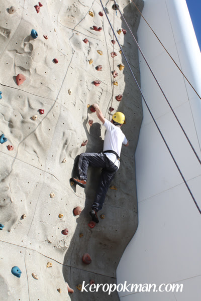 Rock-Climbing Wall - Easy Difficulty