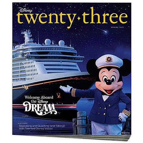 D23 Disney twenty-three Magazine Spring 2011 Issue