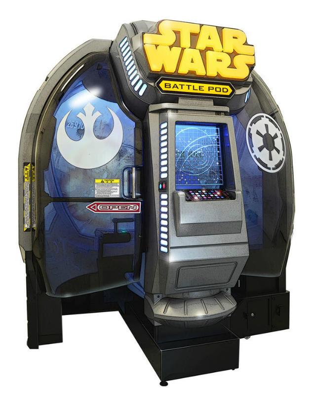 Star Wars Battle Pod - Conheça o novo Arcade