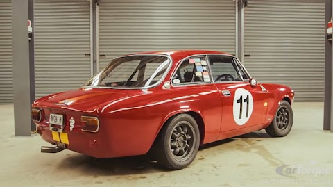 Alfa Romeo 1750 Gtv Review