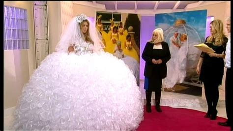 Elaborate wedding dresses from the Gypsy Wedding tv series