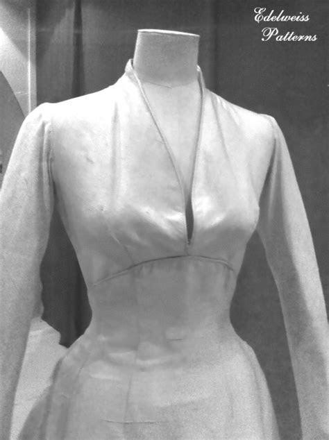 """""""Maria's Wedding Dress""""   As Seen Up Close!   Edelweiss"""