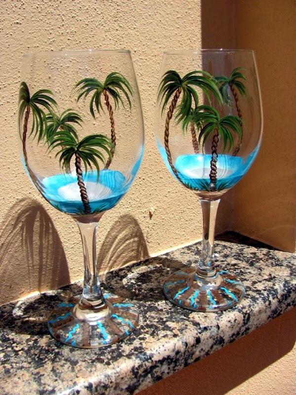 Artistic wine glass painting ideas (26)