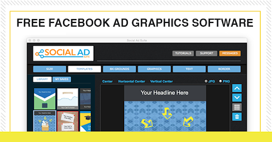 Download our Facebook Ad Graphics Software Completely Free!
