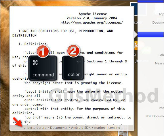 spotlight file location lion a How to Show File Location Using Spotlight in Lion