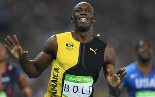Usain Bolt makes history in Rio with third successive Olympics 100m gold medal