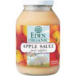 Eden Foods 100% Organic Applesauce - 25 Oz - Case Of 12