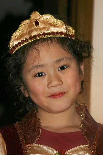 Sophia Happy to Be a Rose Princess
