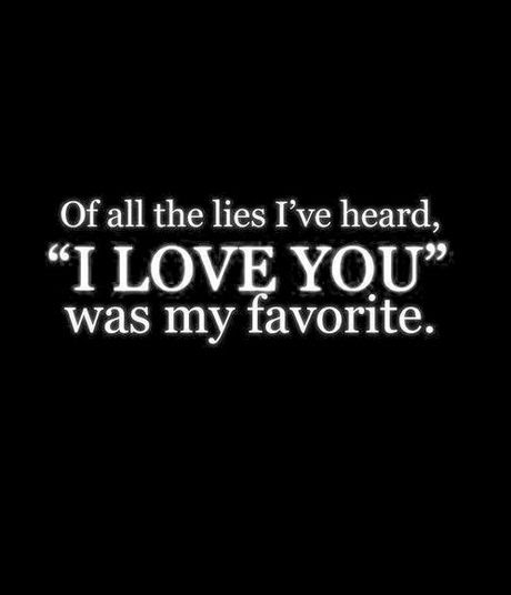 De quem te chegam as mentiras?