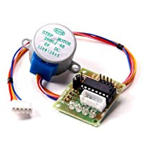 RioRand Stepper Motor 5V DC 4-Phase 5-Wire with ULN2003 Driver Board