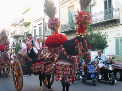 Sicilian Cart parade!