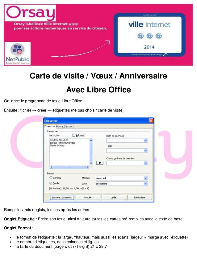 Modele Carte Anniversaire Publisher