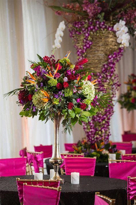 Vintage Tropics Inspired Wedding by Tony Foss Flowers