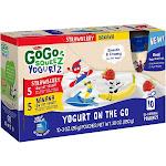 Gogo Squeez Strawberry Banana Yogurt on The Go - 10 pouches, 3 oz each