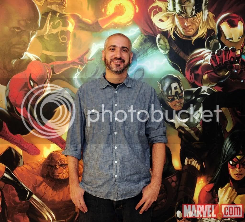 Novo Editor da Marvel