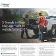 5 Trends in Fleet Management To Watch For in 2017 - Whitepaper - GPS / Telematics - Whitepaper - Business Fleet