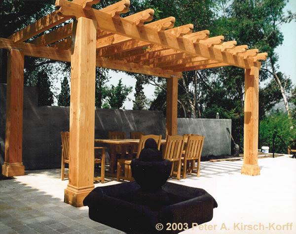 Los Angeles Wood Pergolas, Patio Covers, Arbors & Beautiful Trellises