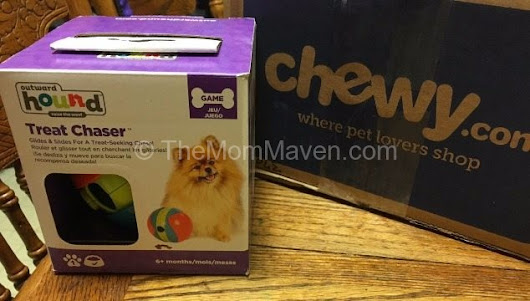 Outward Hound Treat Chaser from Chewy - The Mom Maven