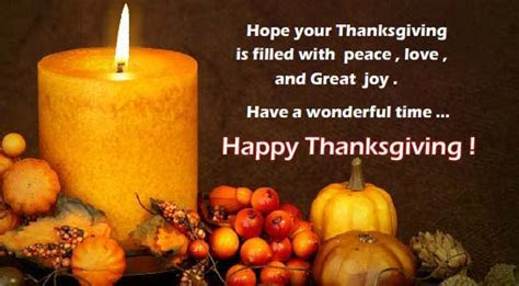 Have A Wonderful Time  Free Happy Thanksgiving eCards