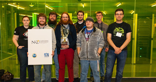 NKU cyber team places second in regional competition