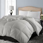 Blue Ridge 1000-Thread Count Cotton Down Alternative Comforter King Grey