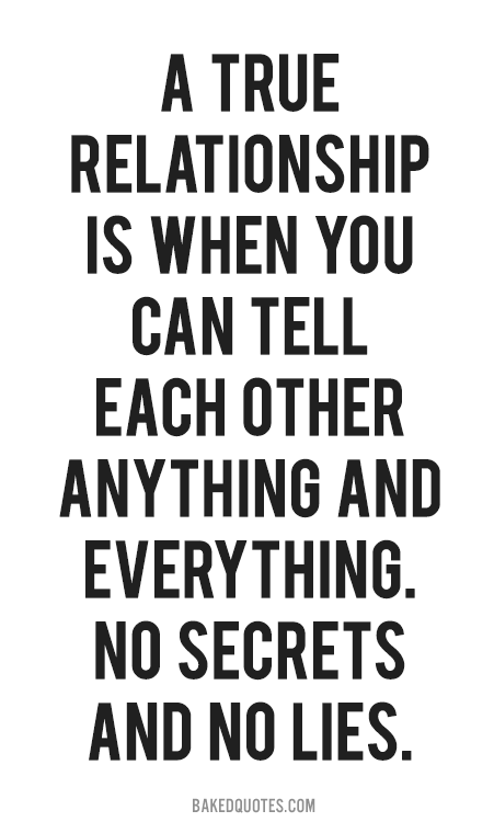 Quotes About Relationship Secrets 68 Quotes
